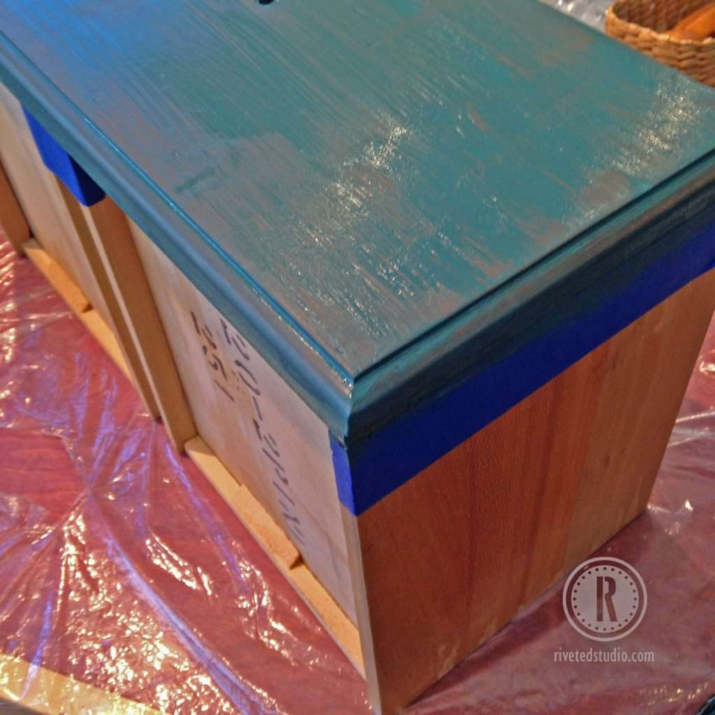 yardsticks and milk paint with latex paint drexel