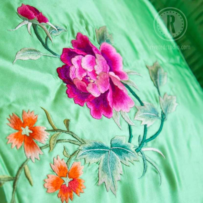 flower close up pillowsham